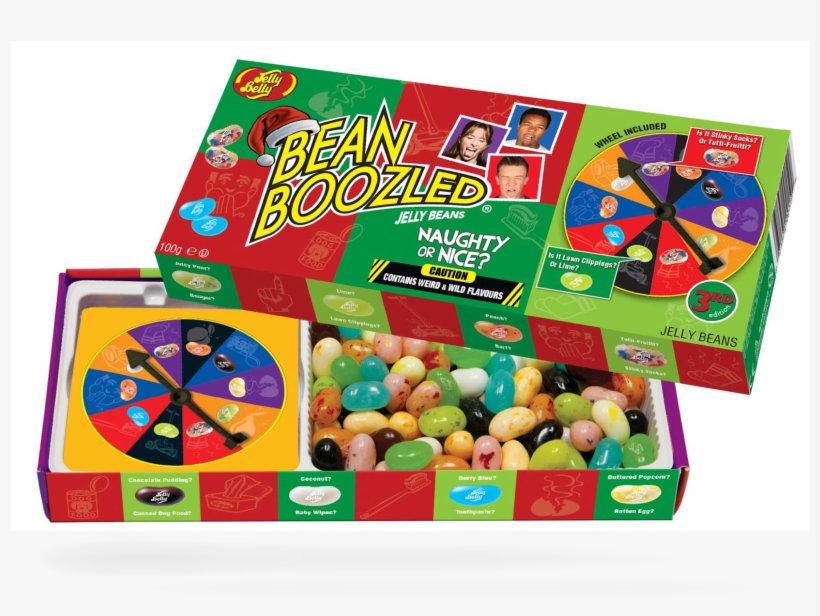 Jelly Belly Naugty Or Nice Bean Boozled Spinner Box.