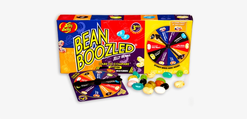 Jelly Belly Beanboozled Spinner Box.