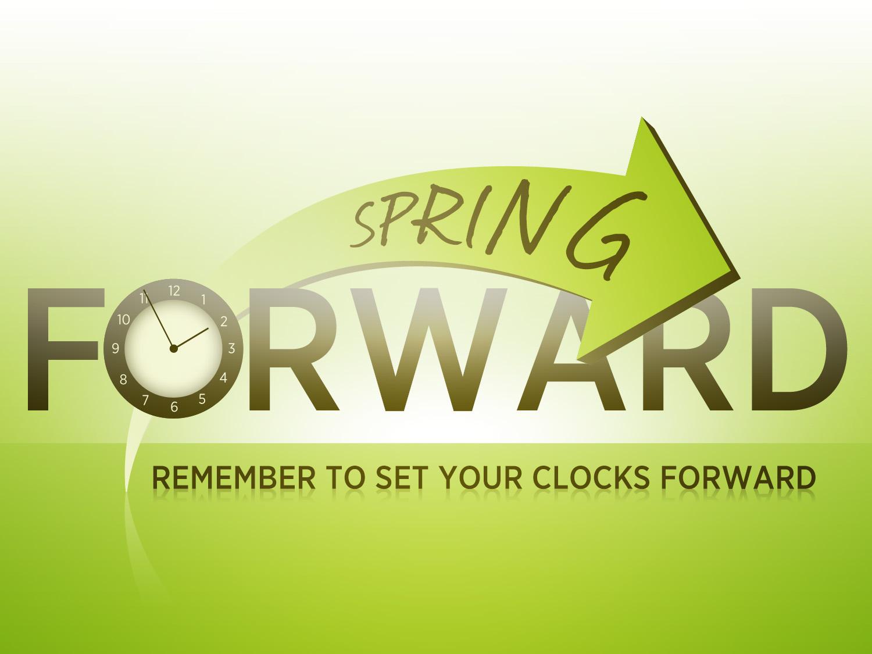 Daylight Savings Spring Forward Clipart Spring Forward Clock.