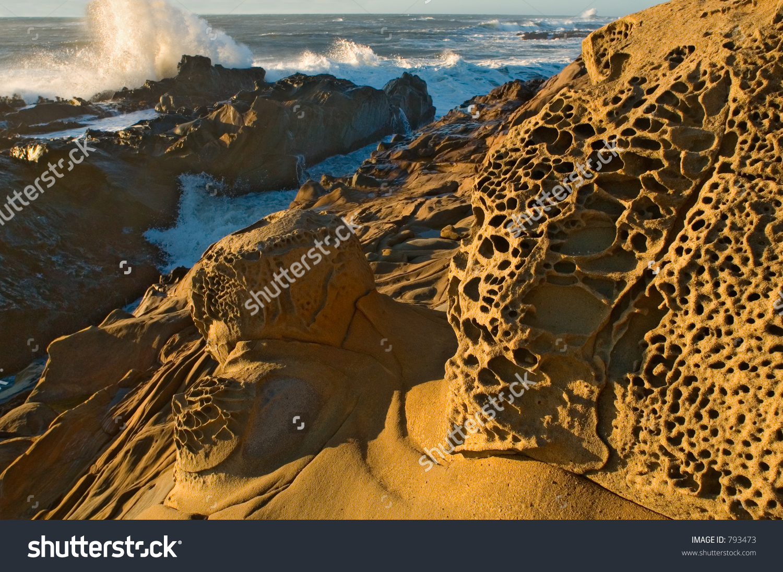 Bean Hollow State Beach Northern California Stock Photo 793473.