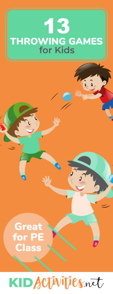 13 Throwing Games for Kids (Great for PE Class).