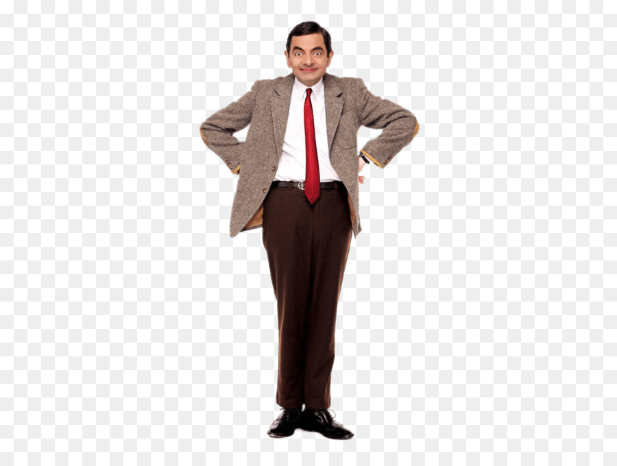 Mr Bean Cartoon clipart.