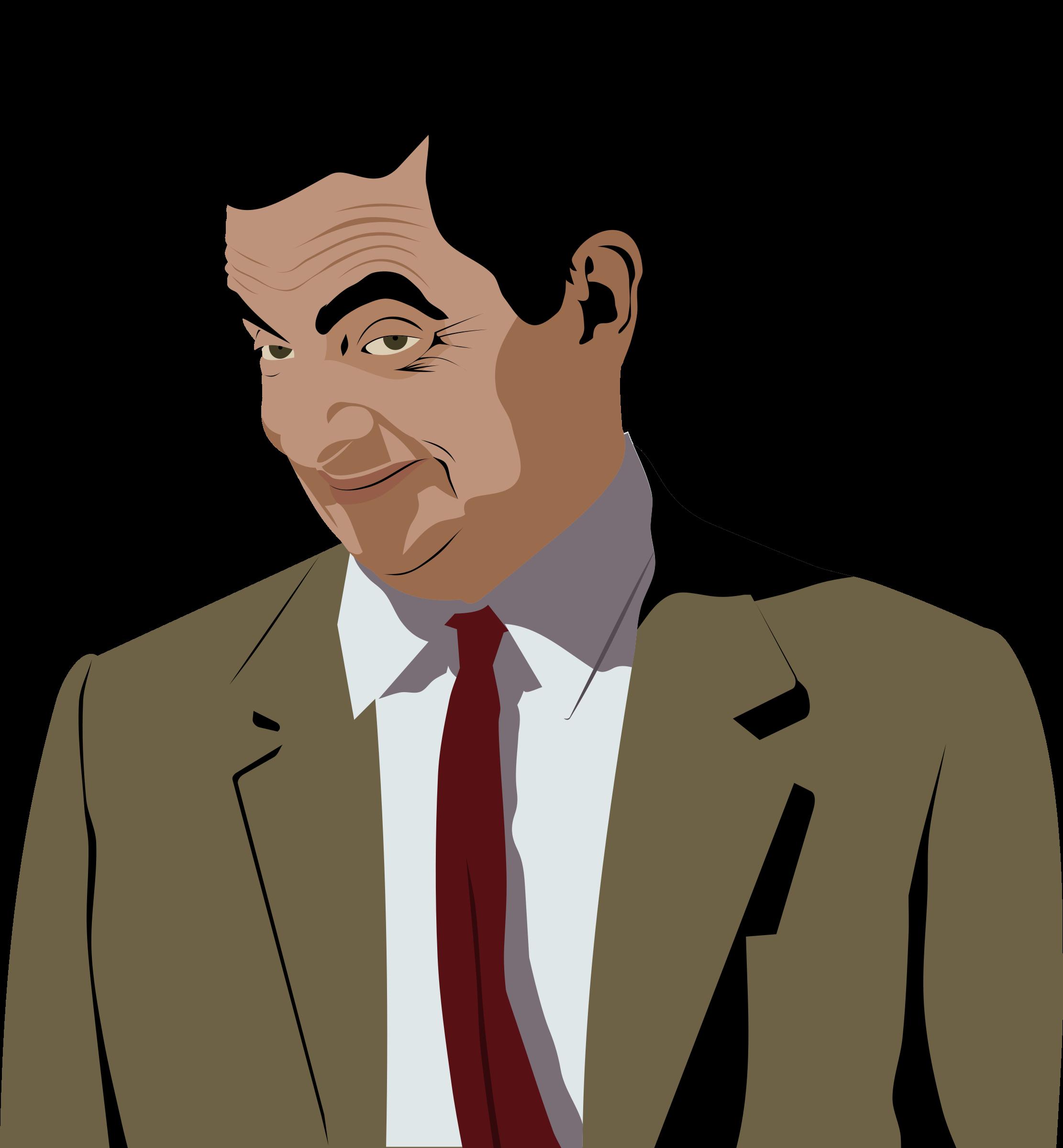 Mr Bean Clipart.