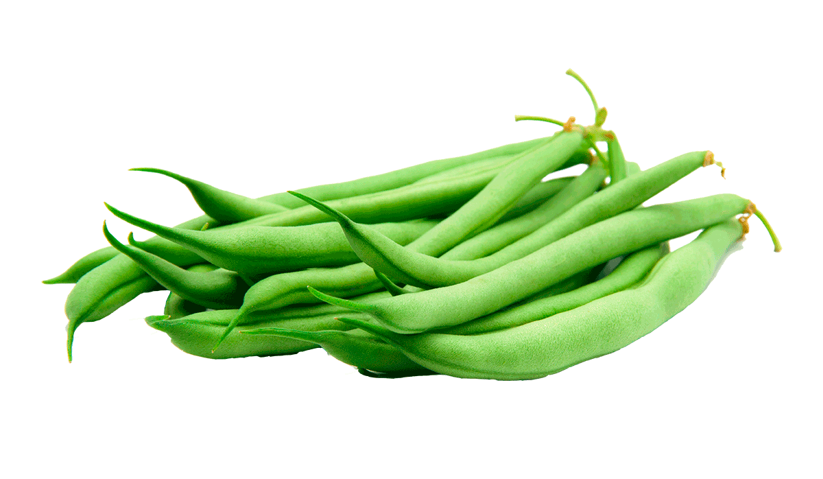 Green Bean PNG Pic Background.