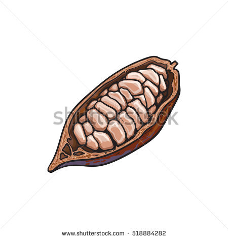 Pod Fruit Stock Photos, Royalty.