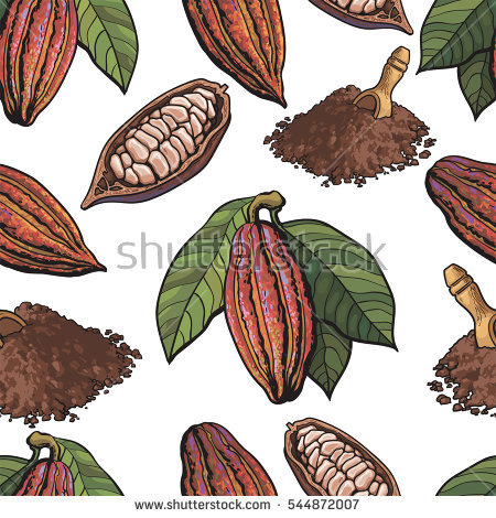 Cocoa Pod Stock Photos, Royalty.