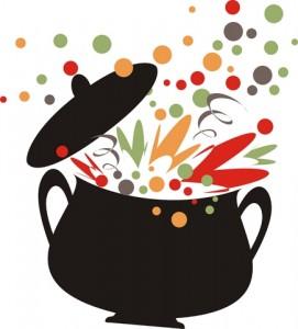 Pic bean soup clip art image #25652.