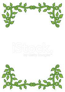 Simple Vine Border stock vectors and illustrations.