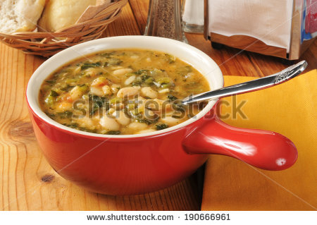Bean Soup Stock Photos, Royalty.