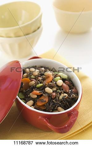 Picture of Bean stew with wild rice 11168787.