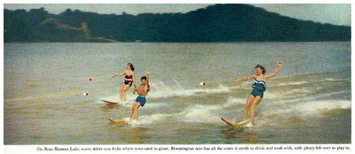 History of Bean Blossom Lake (Lake Lemon) (Big Indiana Bass).