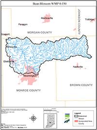 IDEM OWQ Watersheds: Bean Blossom WMP 4.