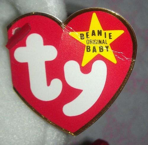 Beanie Babies Hang Tag Generations 1.