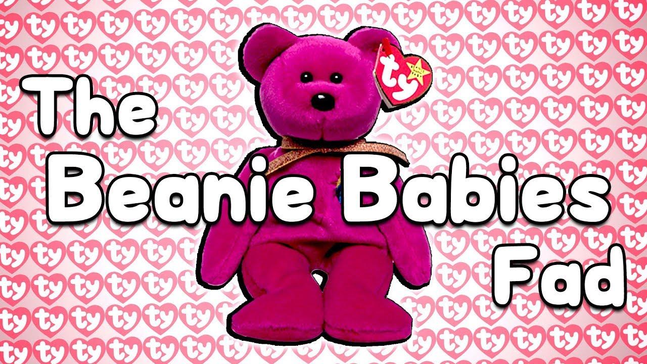 The Beanie Babies Fad.