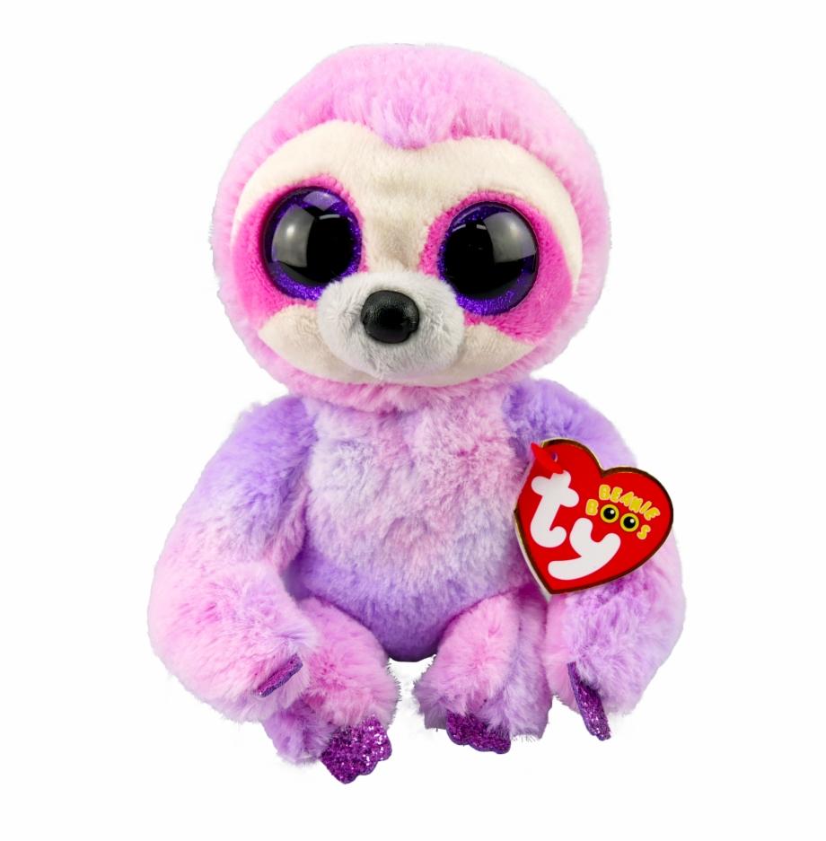 "Dreamy The Purple Sloth 6"" Plush."
