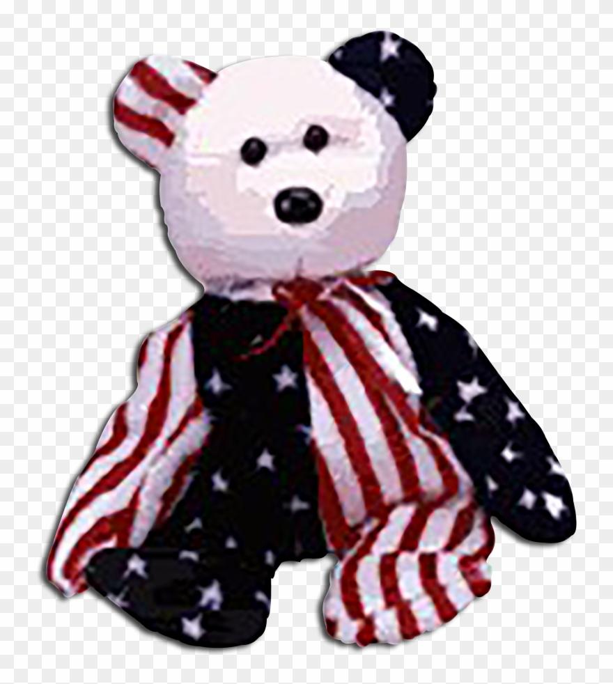 Cuddly Collectibles Patriotic Teddy.