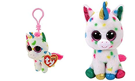 Amazon.com: TY Beanie Boo Harmonie Speckled Unicorn 6