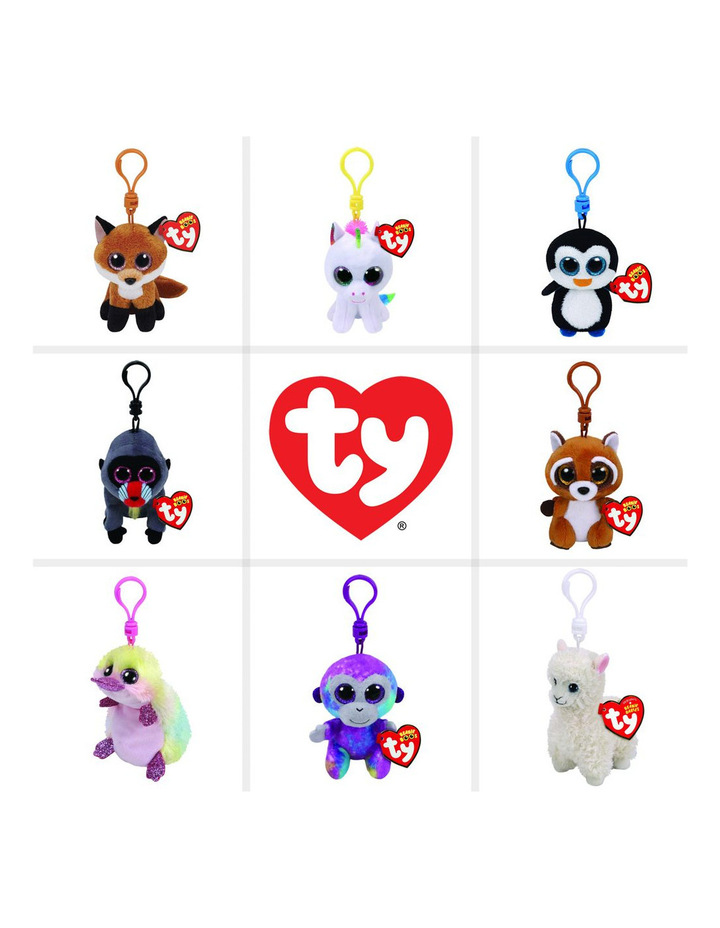 Ty Ty Beanie Boo Clips Assortment.