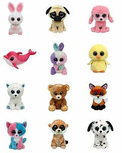 Details about Beanie Boo Edible Party Image Cupcake Topper Frosting Icing  Sheet Circles.