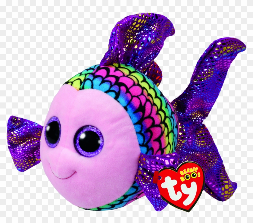 Ty Beanie Boo Flippy The Fish.