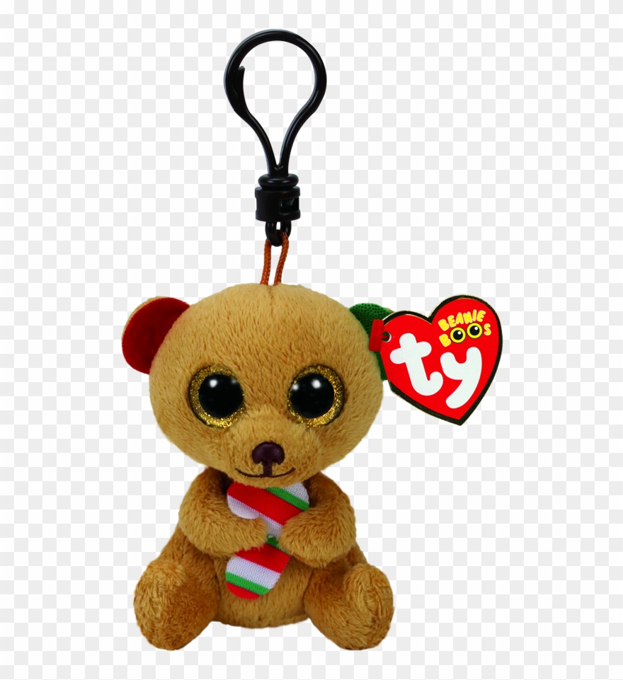 Clip Xmas Brown Bear Bella.
