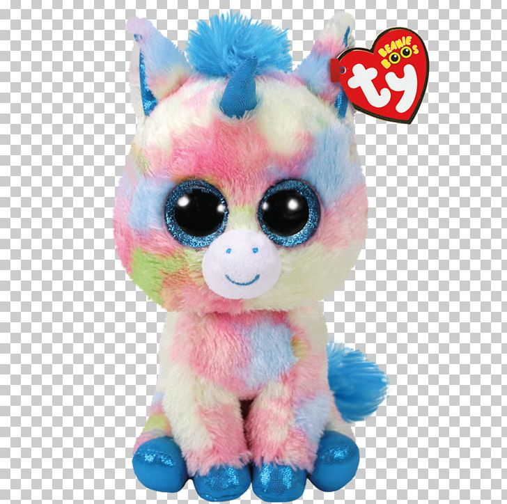 Ty Inc. Beanie Babies Stuffed Animals & Cuddly Toys Unicorn PNG.