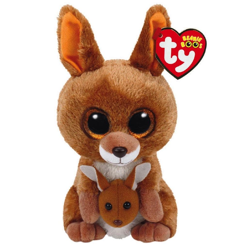 TY Beanie Boo Brown Kangaroo.