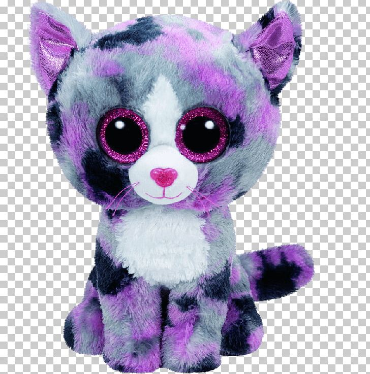 Ty Inc. Pink Cat Stuffed Animals & Cuddly Toys Beanie Babies PNG.
