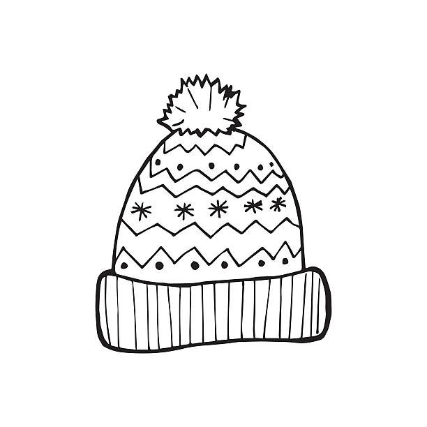 Best Knit Hat Illustrations, Royalty.