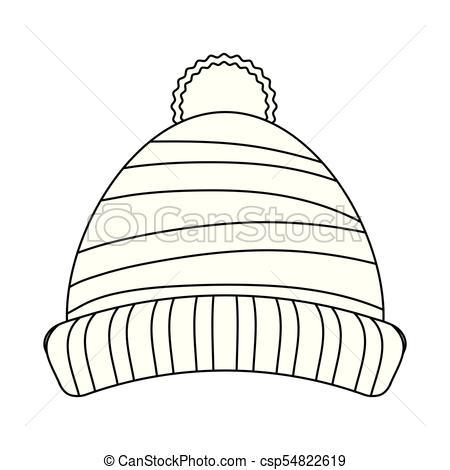 Beanie winter hat.