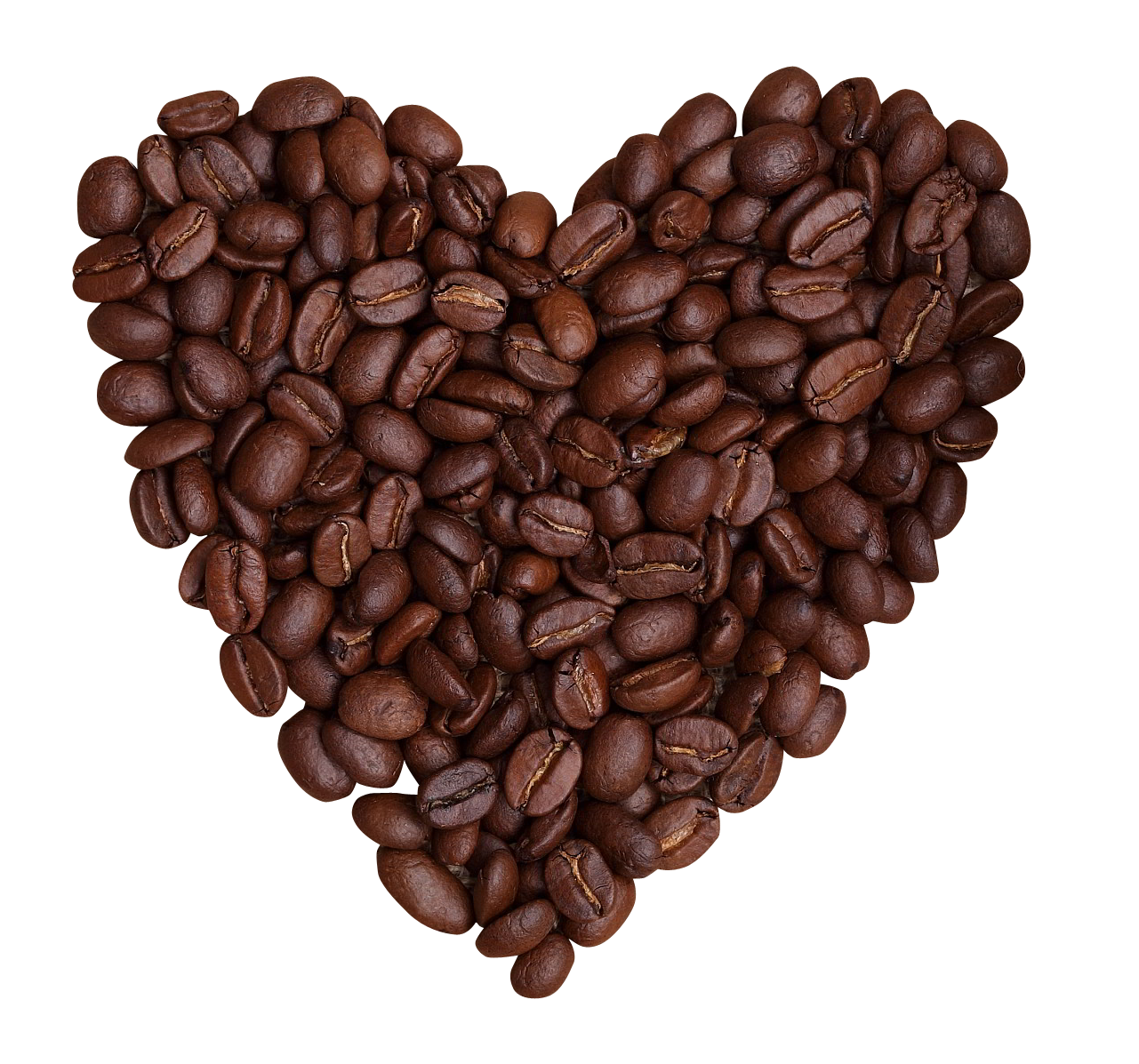 Coffee Beans PNG Image.