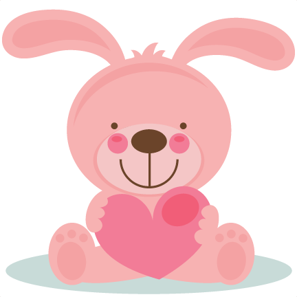 Cute Animal Valentine Clipart.