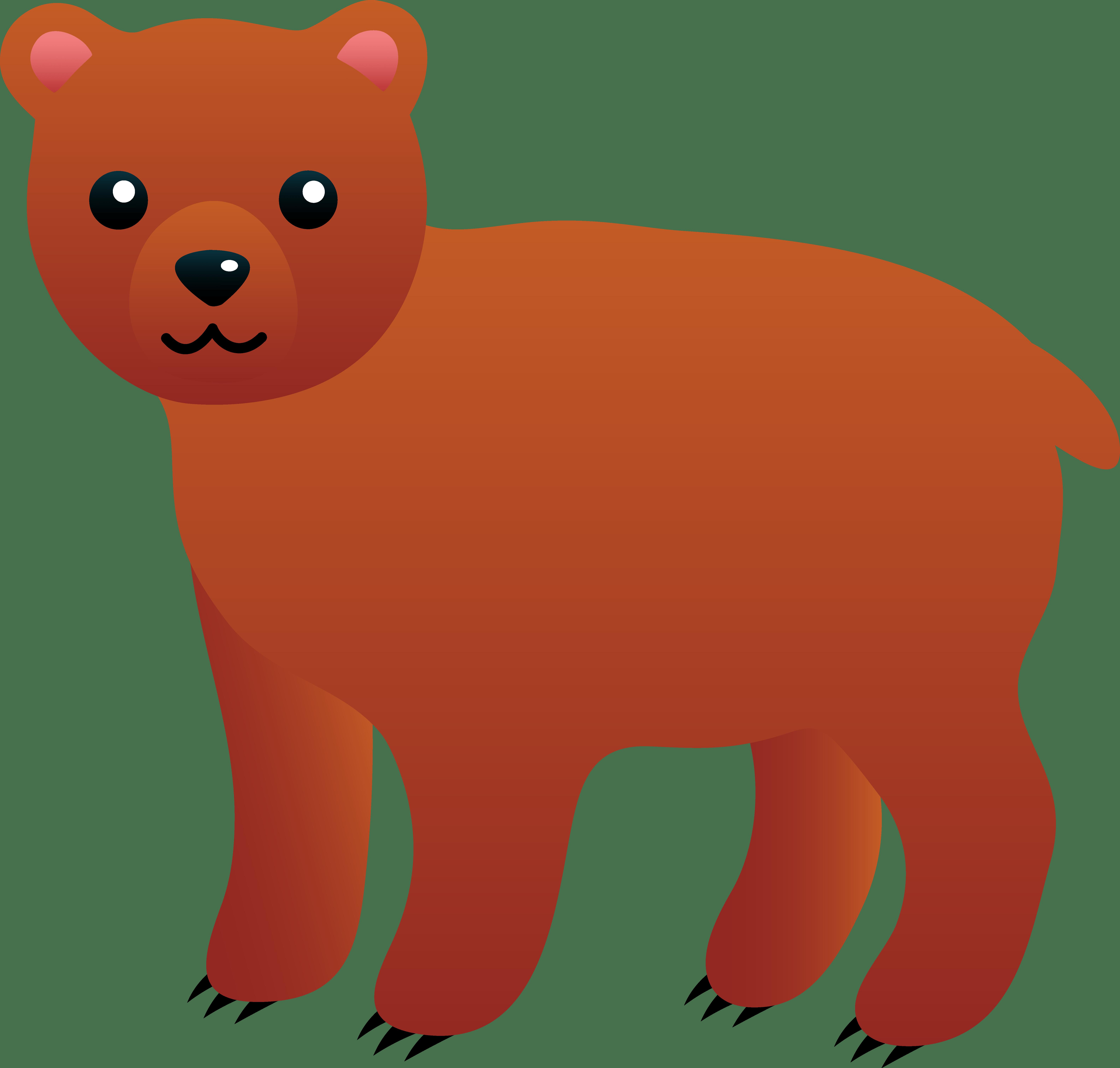 Clipart bear cub » Clipart Portal.