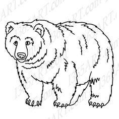 24+ Bear Clipart Black And White.