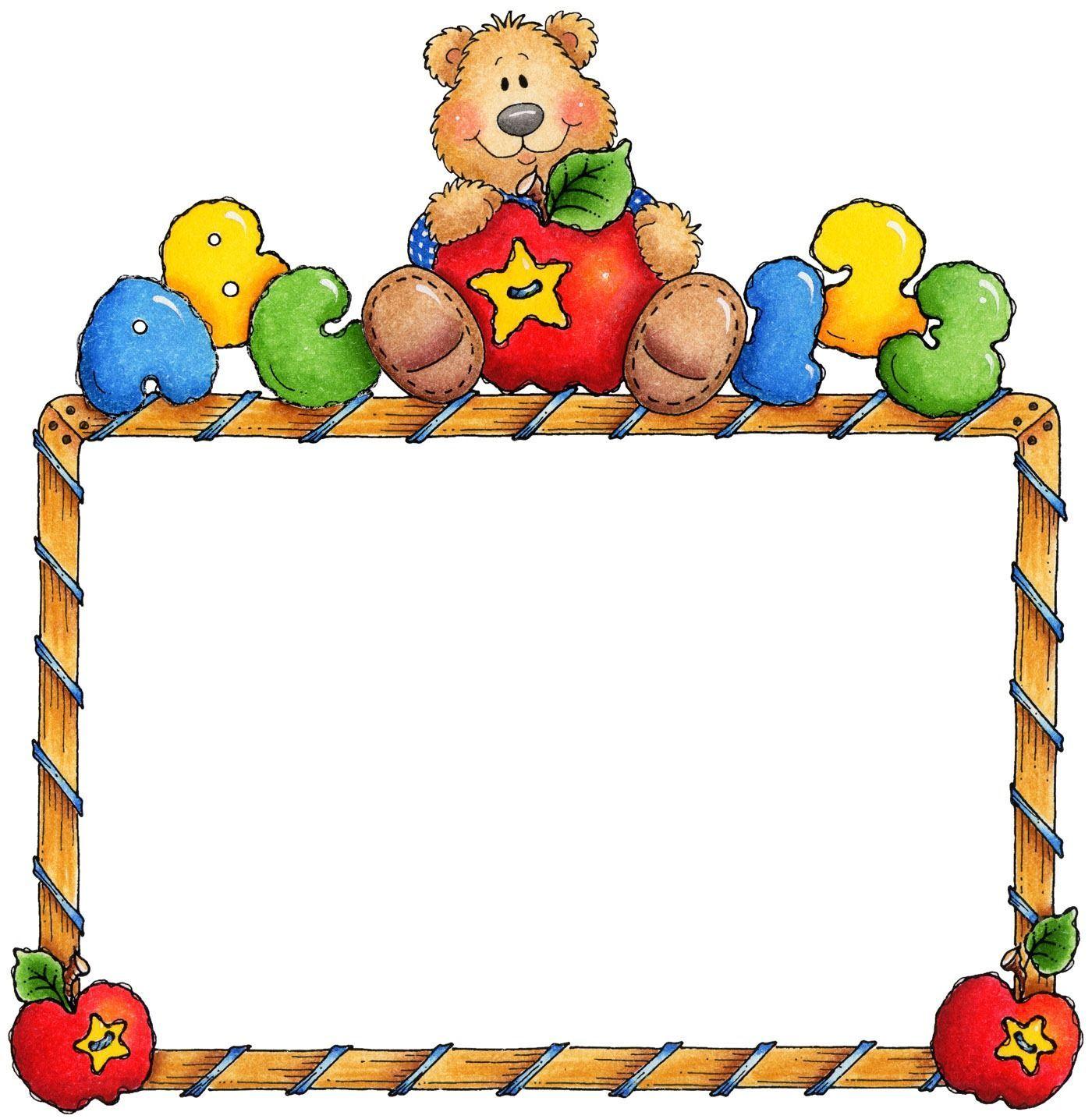 Teddy bear border clipart 8 » Clipart Portal.