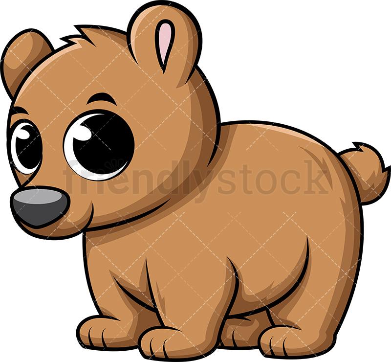 Cute Baby Bear.