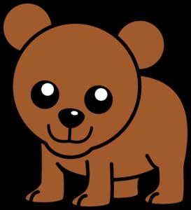 Baby Cartoon Bear Clip Art at Clker.com.