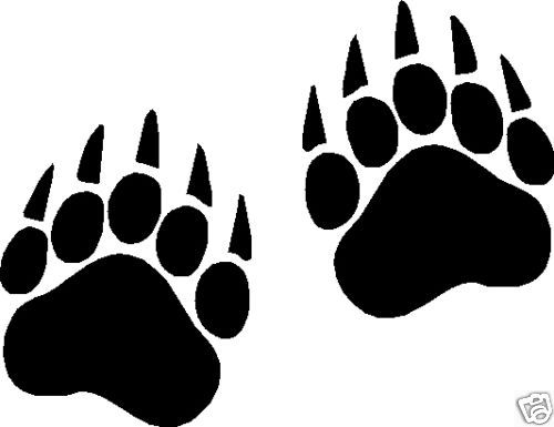 Free Bear Paw Print, Download Free Clip Art, Free Clip Art.