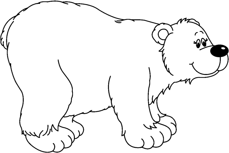 Download Free png Bear Clipart Black And White.