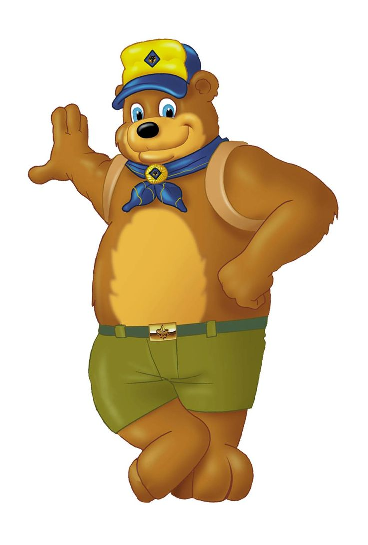 Watch more like Boy Scout Bear Clip Art.
