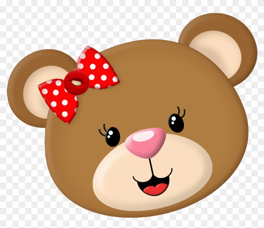 Clipart Bear Face.