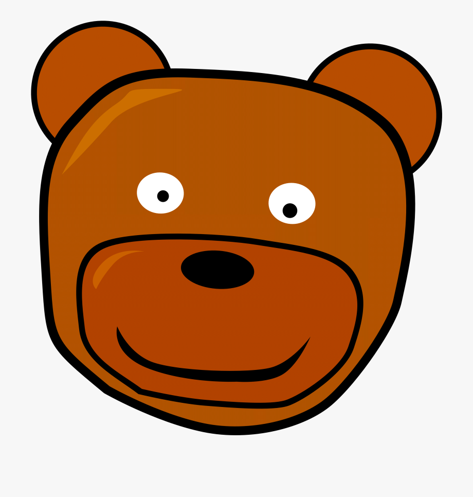 Bear Face Clipart Clipart Free Download.