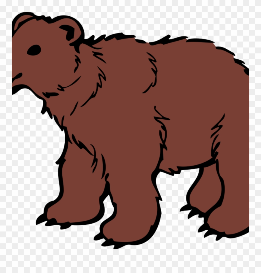 Bear Cliparts Grizzly Bear Clipart At Getdrawings Free.