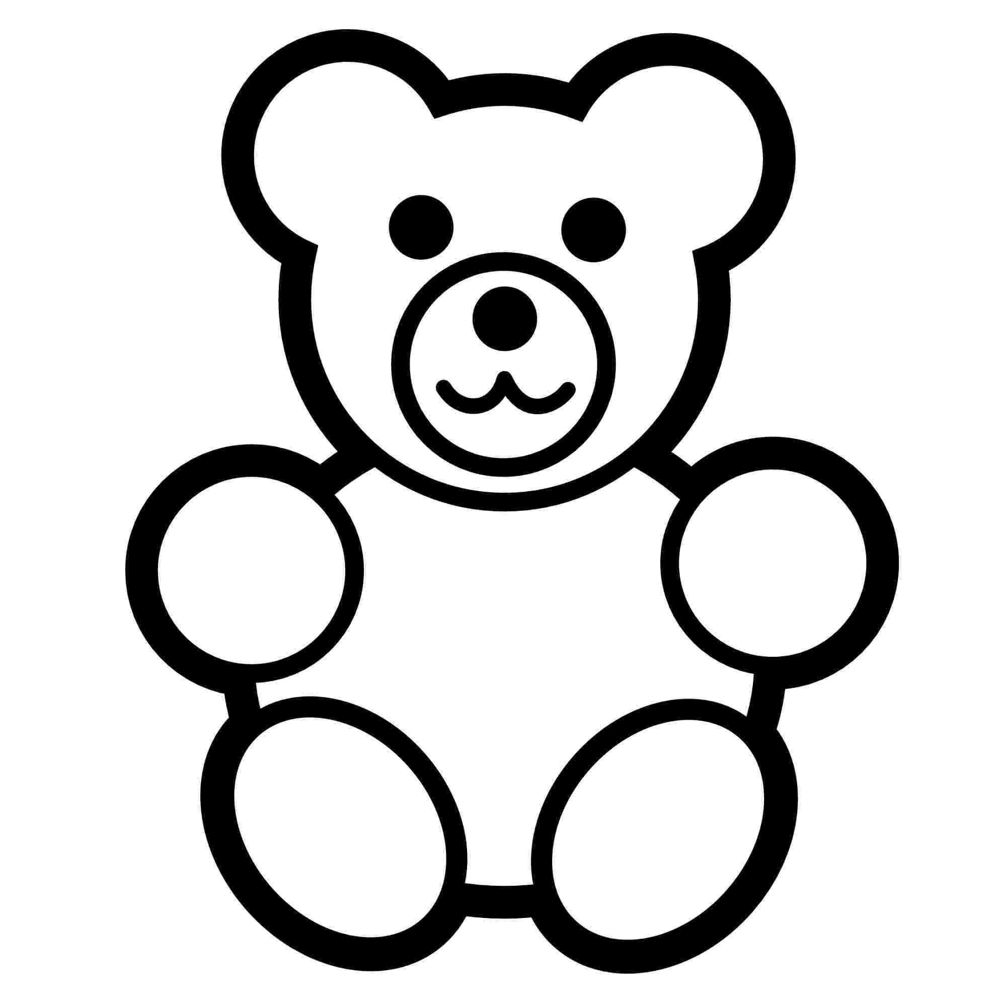 colouring pages of teddy bears free printable teddy bear.