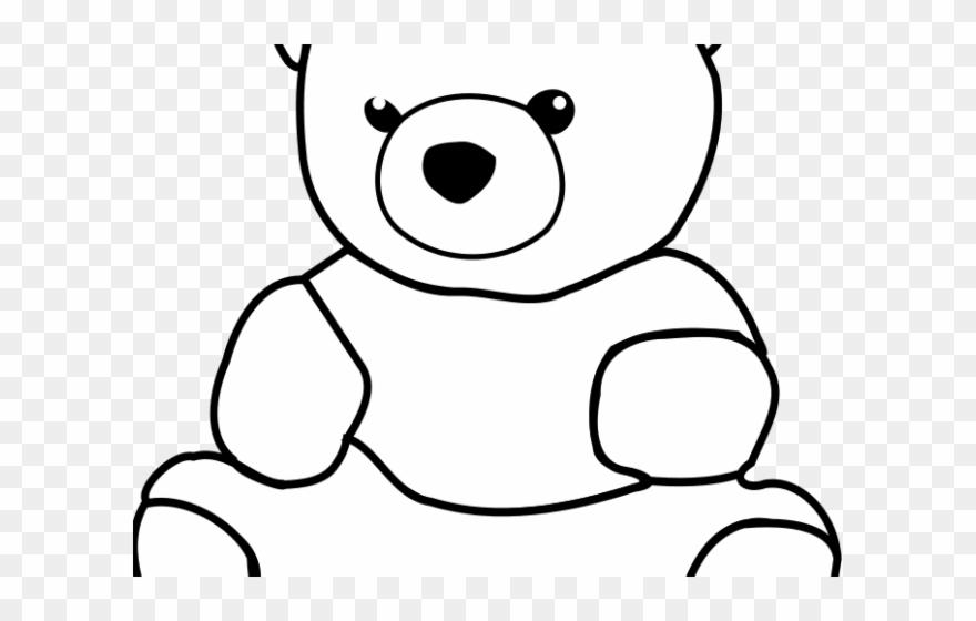 Teddy Bear Clipart Drawing.
