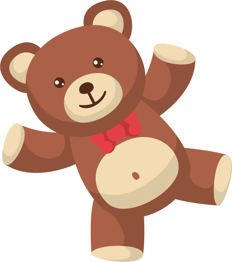 Teddy Bear Clipart PNG Image 02 185x210 #9307.