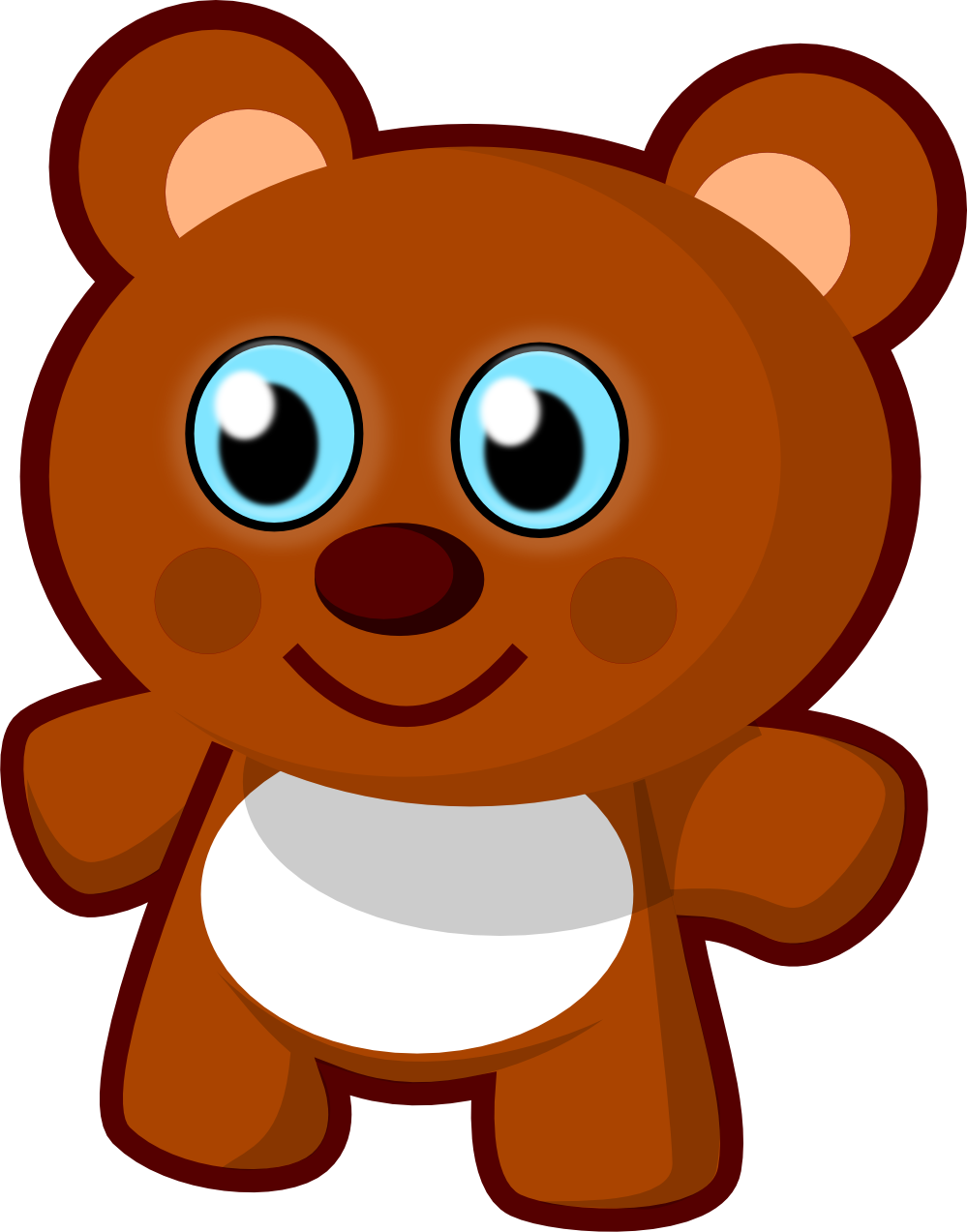 Bear clipart png 2 » Clipart Station.