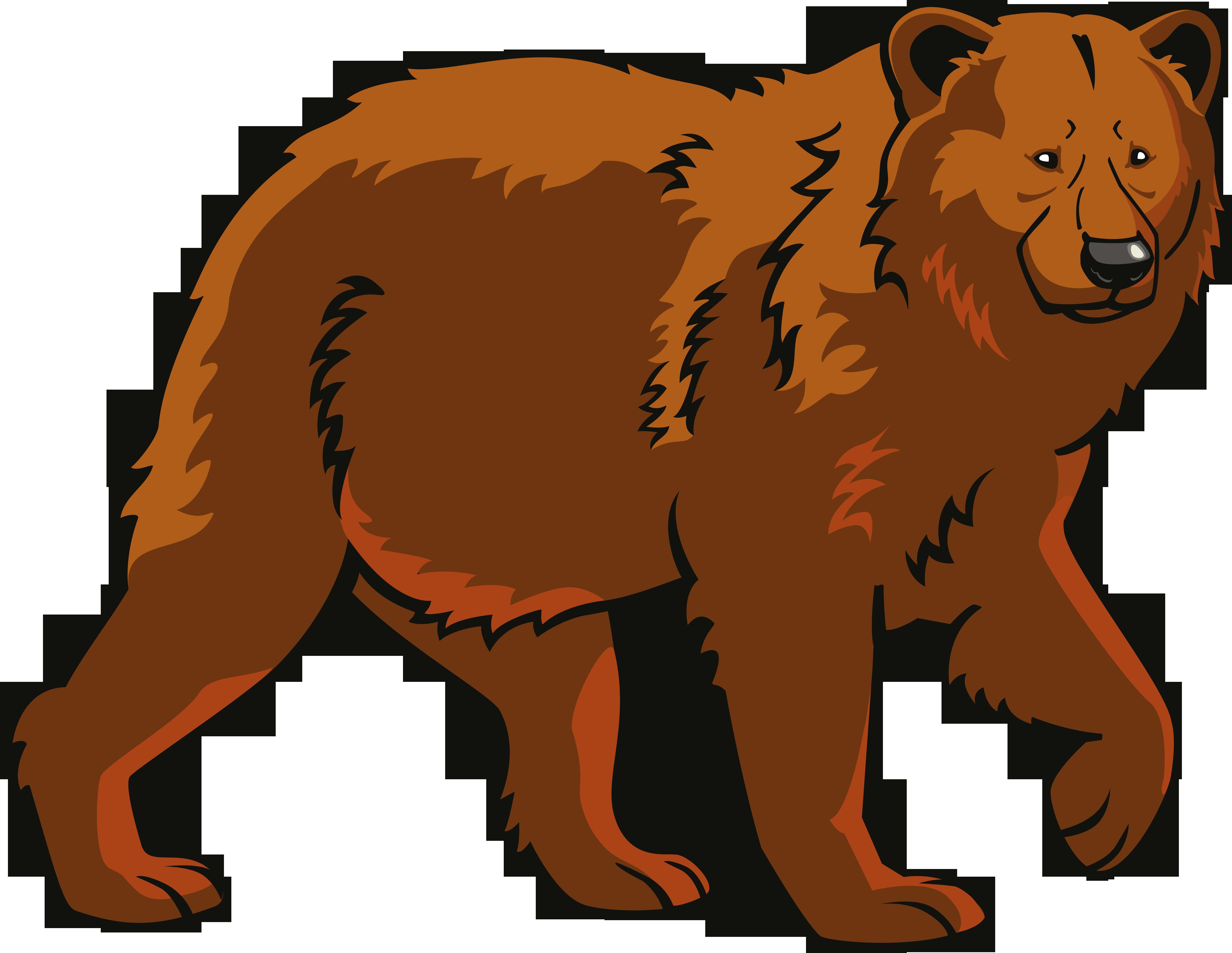 Polar bear Eurasian brown bear Clip art.