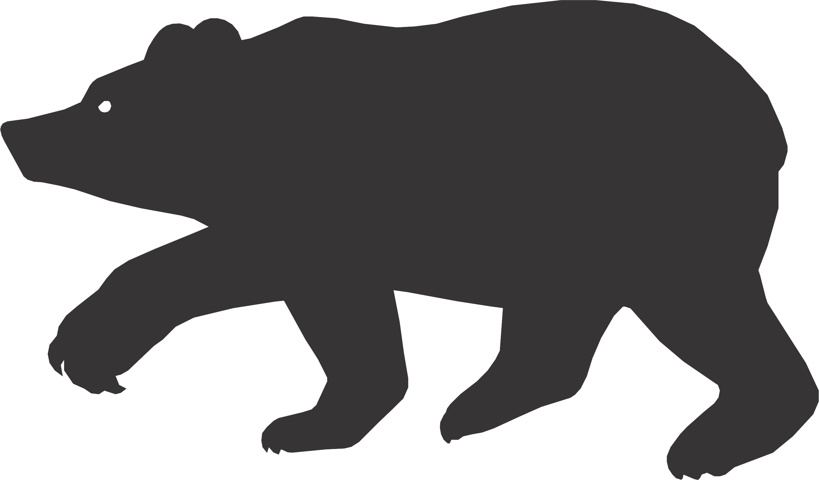 Free Bear Silhouette, Download Free Clip Art, Free Clip Art on.