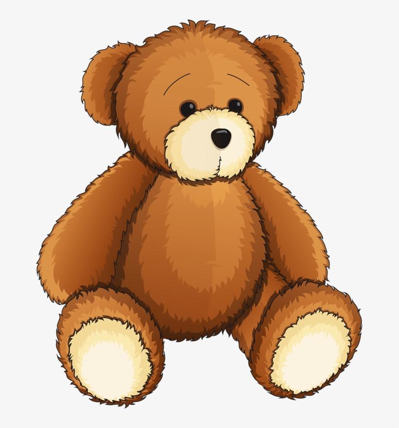 Teddy Clipart Toy.